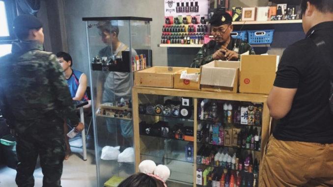 Der er indført forbud mod e-cigaretter i Thailand