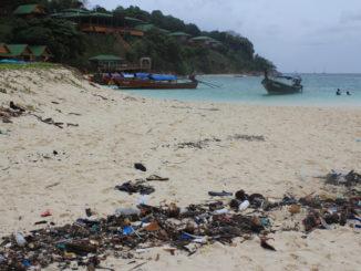 Thailand deltager i projektet 'Upcycling the Oceans' for at mindske mængden af affald i havet.