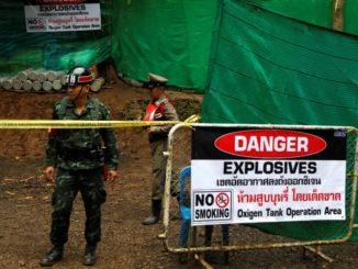 Evakuering af thailandske drenge er begyndt