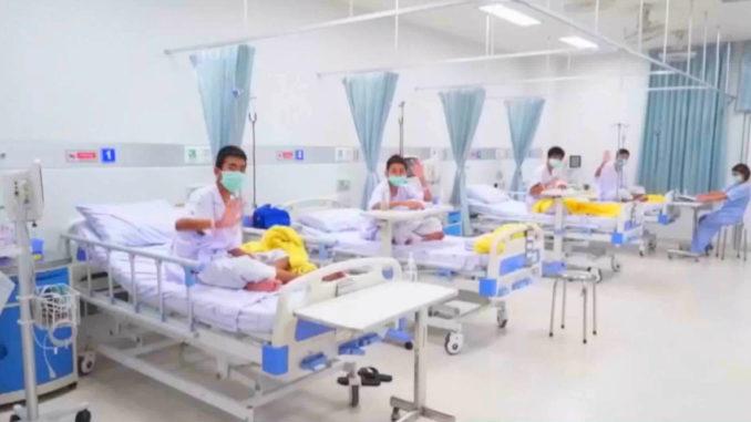 De 12 thailandske drenge fra grotten - tak for al jeres støtte