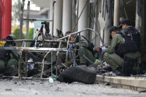 Politisk bombeattentat mod militærhospital