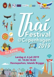 Thai Festival 2019 i København, lørdag den 6. juli 2019